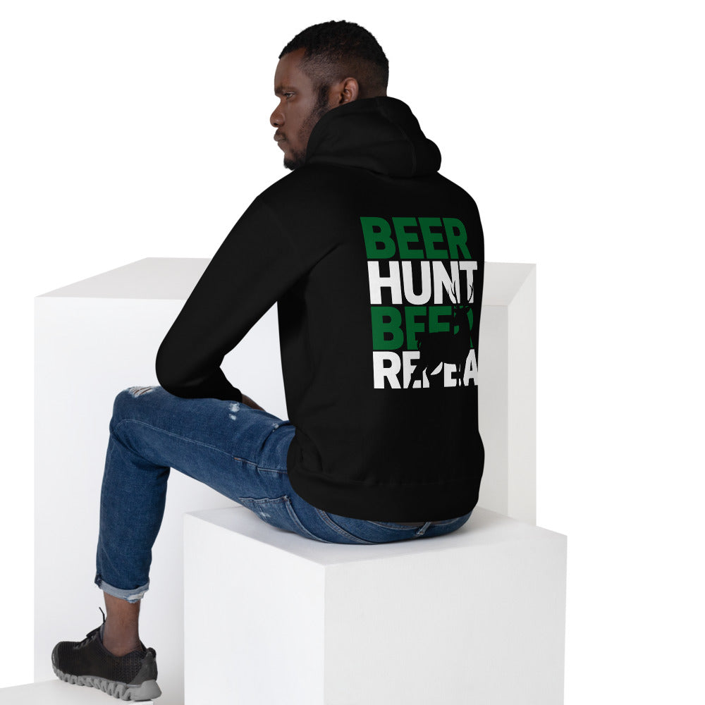 Beer, Hunt, Repeat - Unisex Hoodie