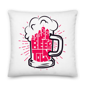 Beertown Mug - Premium Pillow