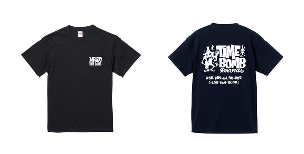 TIMEBOMB RECORDS - Timebomb Records Logo T-Shirt version.02(Black)
