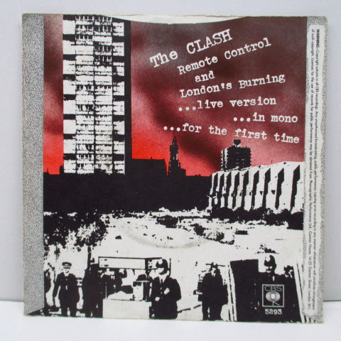 "CLASH, THE - Remote Control (UK 2nd Press 7""/CBS 5293)"
