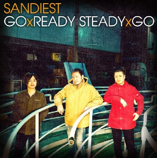 SANDIEST - Go x Ready Steady x Go (CD+DVD/New)