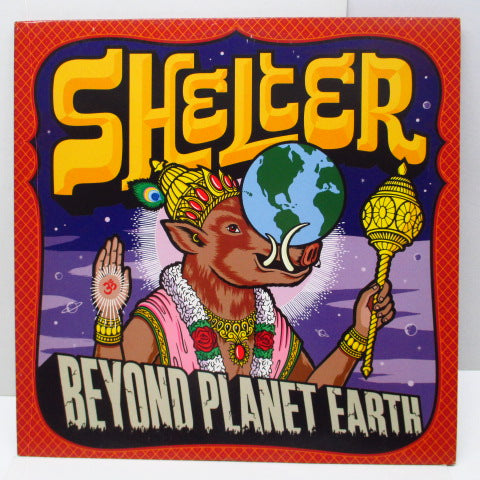 SHELTER - Beyond Planet Earth (US Orig.LP)