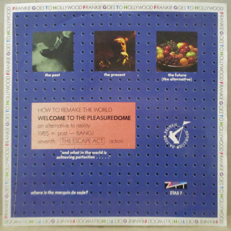"FRANKIE GOES TO HOLLYWOOD - Welcome To The Pleasuredome +2 (UK Orig.7"")"