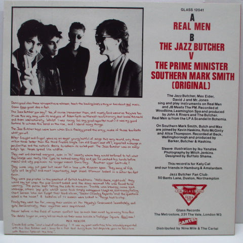 "JAZZ BUTCHER, THE - Real Men +3 (UK Orig.12"")"