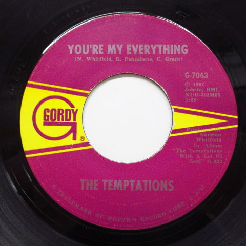 TEMPTATIONS - You're My Everything (Orig)