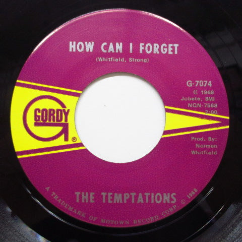 TEMPTATIONS - How Can I Forget (Orig)