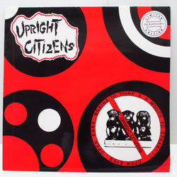 UPRIGHT CITIZENS - Open Eyes, Open Ears, Brains To Think & A Mouth To Speak (German Ltd.Blue LP)
