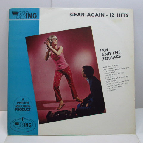 IAN & THE ZODIACS - Gear Again-12 Hits (UK Orig.Mono LP)
