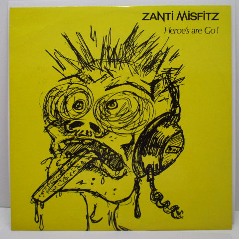 ZANTI MISFITZ - Heroe's Are Go (UK Orig.LP)