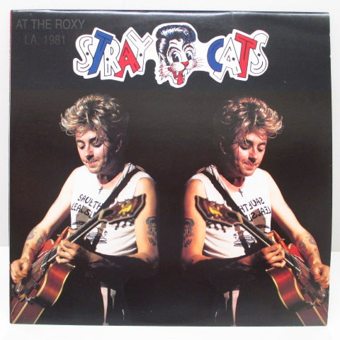 STRAY CATS - Live At The Roxy '81.9.2 (Italy RE 2xLP)