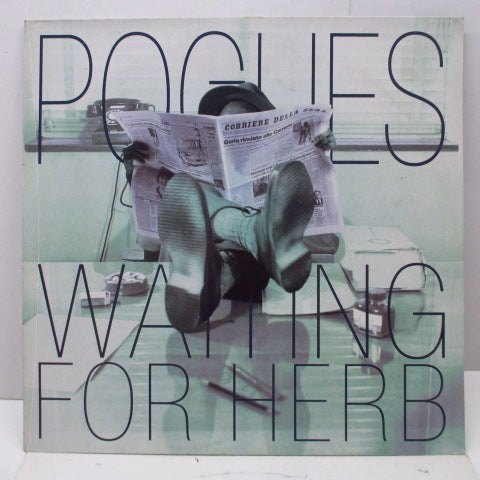 POGUES, THE - Waiting For Herb (German Orig.LP)