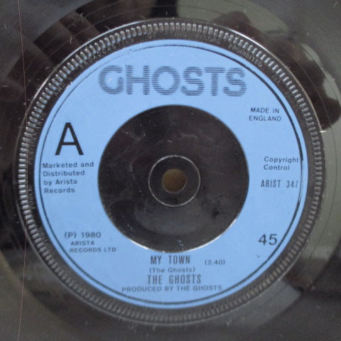 "GHOSTS, THE - My Town /  I'm Your Man (UK Orig.7"")"