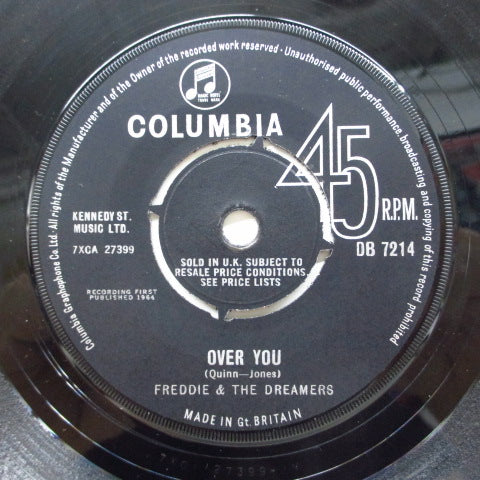 FREDDIE AND THE DREAMERS - Over You (UK Orig.)
