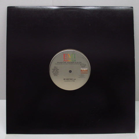 "PHANTOM, ROCKER & SLICK - My Mistake (US Promo.12""/Die-Cut CVR)"
