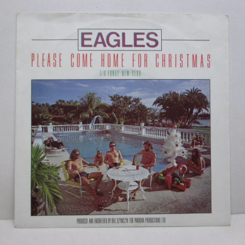 "EAGLES - Please Come Home For Christmas (Dutch Orig.7""+PS)"
