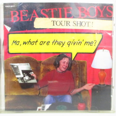 BEASTIE BOYS - Tour Shot! (Japan Orig.CD)