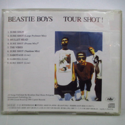 BEASTIE BOYS-Tour Shot! (Japan Orig.CD)