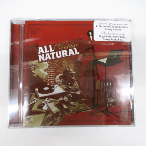 ALL NATURAL - Vintage (US Orig.CD)