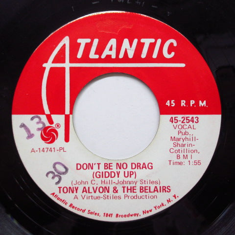 TONY ALVON & THE BELAIRS - Philly Horse (Promo)