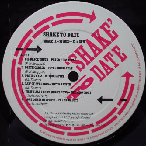 V.A. - Shake To Date (UK Orig.LP)