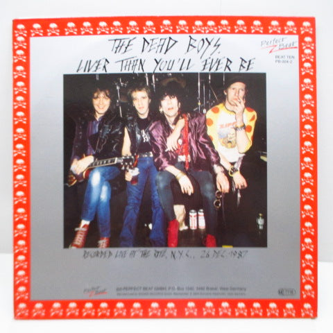 DEAD BOYS - Liver Than You'll Ever Be (German Ltd. 2xRed Vinyl LP/GS)