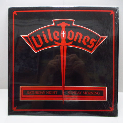 VILETONES, THE - Saturday Night Sunday Morning (Canada Orig.LP)