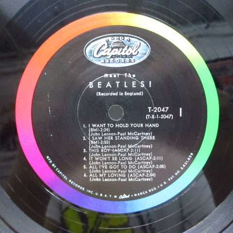 BEATLES - Meet The Beatles ! (US Orig.Mono LP)