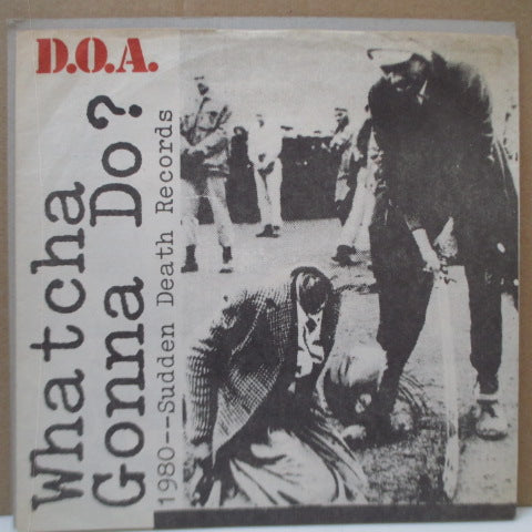 "D.O.A. - World War 3 (Canada Ltd.7""+Baby Head PS)"
