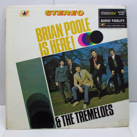 BRIAN POOLE & THE TREMELOES - Brian Poole Is Here ! (US Orig.Stereo LP)