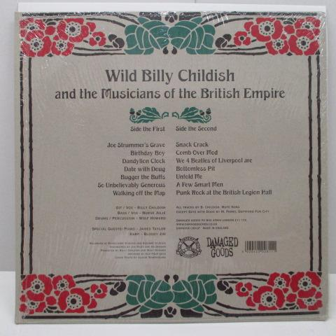 WILD BILLY CHILDISH And The Musicians Of The British Empire - Punk Rock At The British Legion Hall (UK Orig.LP)