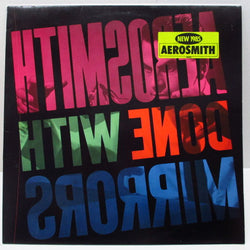 AEROSMITH - Done With Mirrors (EU Orig.LP)