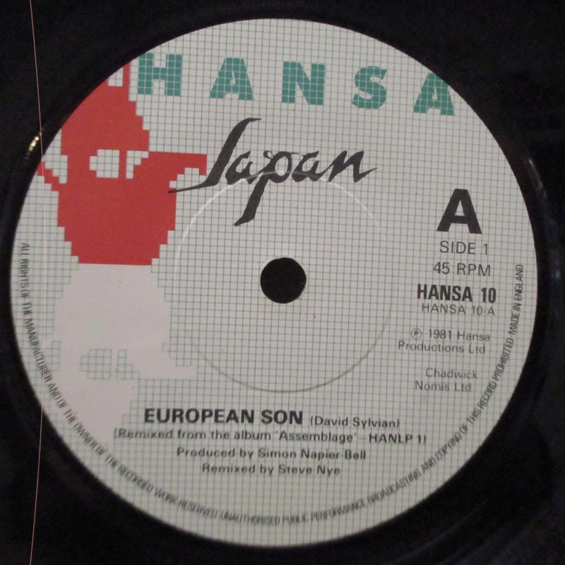"JAPAN - European Son (UK Orig.7"")"