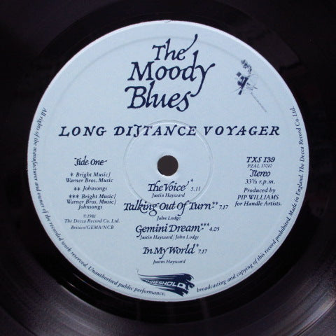 MOODY BLUES - Long Distance Voyager (UK Orig.LP/GS)