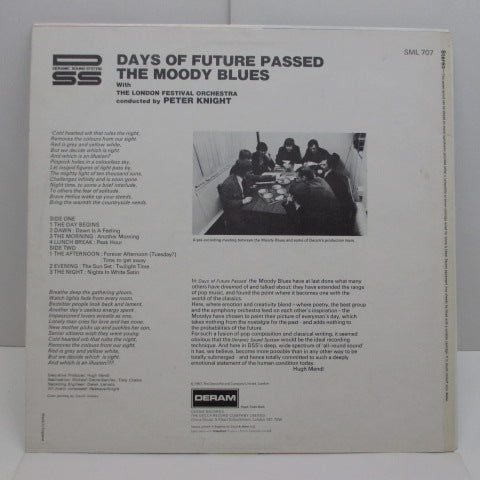 MOODY BLUES - Days Of Future Passed (UK 2nd Press Stereo/CS)