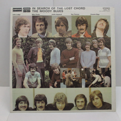 MOODY BLUES - In Search Of The Lost Chord (UK:2nd Press Stereo/裏ジャケ穴無し)