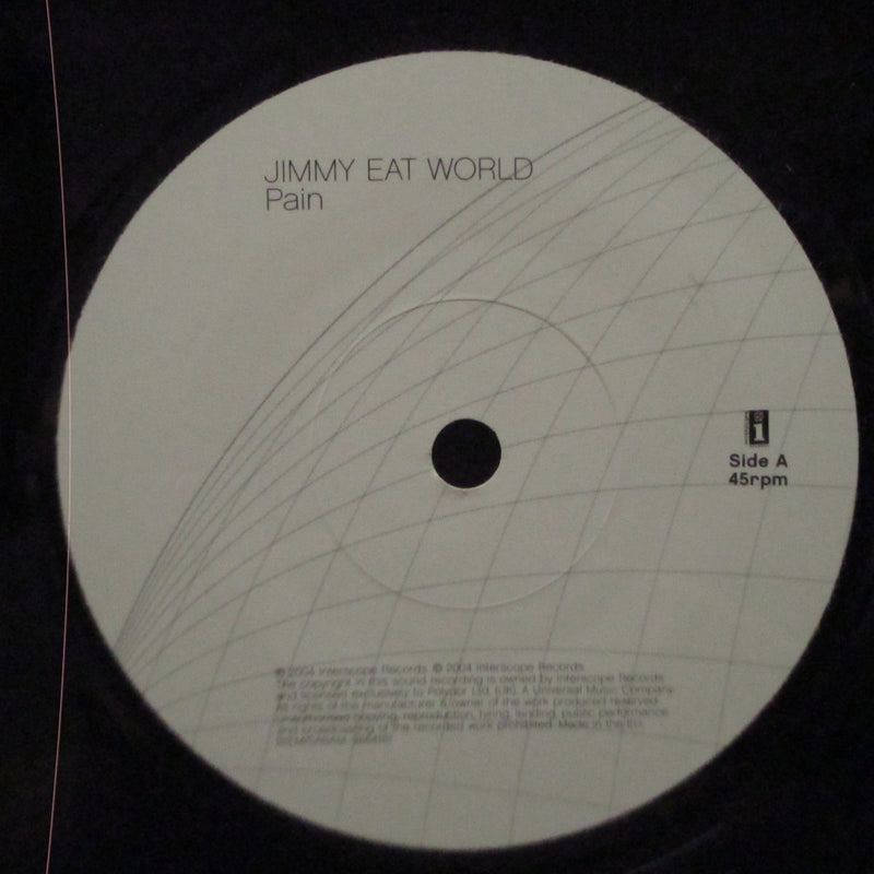 "JIMMY EAT WORLD - Pain (UK Orig.7"")"