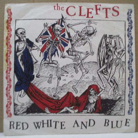 "CLEFTS, THE - Red White And Blue (UK Orig.7"")"