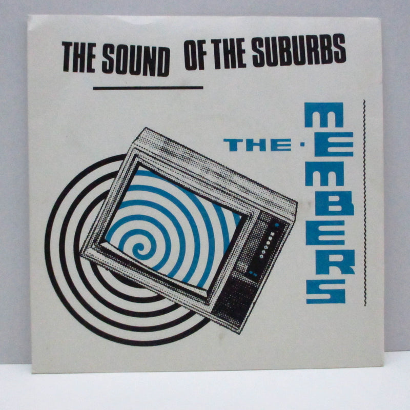 "MEMBERS, THE - The Sound Of The Suburbs (UK Orig.Black Vinyl 7"")"