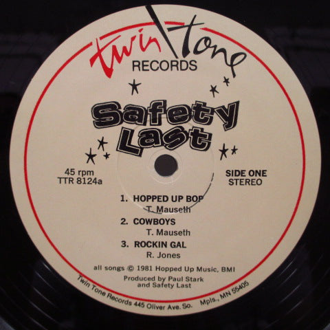 SAFETY LAST - Safety Last (US Orig.MLP)