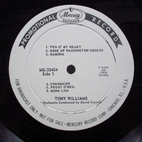 TONY WILLIAMS - A Girl Is A Girl Is A Girl (US Promo Mono LP)