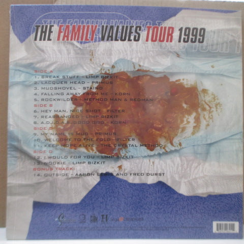 V.A. - The Family Values Tour 1999 (US Orig.2xLP/Stickered CVR)