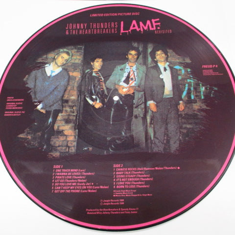 JOHNNY THUNDERS & THE HEARTBREAKERS - L.A.M.F. Revisited (UK Ltd.Picture LP)