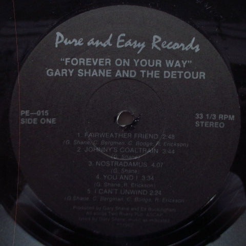 GARY SHANE AND THE DETOUR - Forever On Your Way (US Orig.LP)