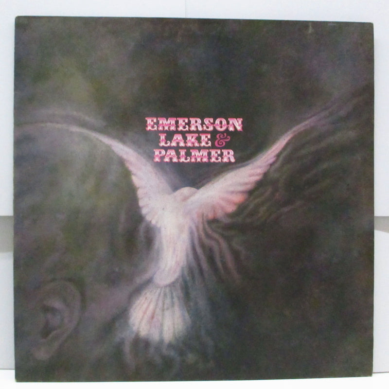 EMERSON, LAKE & PALMER - Emerson, Lake & Palmer (1st) (UK '70 2nd Press LP)