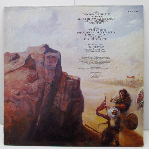 SAXON (サクソン)  - Crusader (UK Orig.LP/GS)