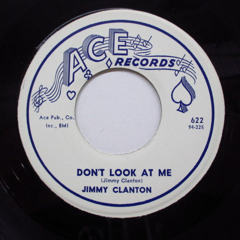 JIMMY CLANTON - Don't Look At Me (Orig+PS)