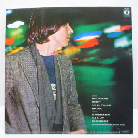 JACKSON BROWNE (ジャクソン・ブラウン)  - Hold Out (Japan Orig.LP)