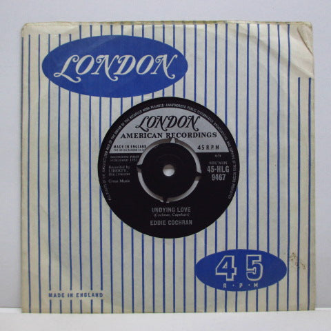 "EDDIE COCHRAN - Stockin's 'n' Shoes (UK Orig.7""+CS)"