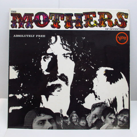 FRANK ZAPPA (MOTHERS OF INVENTION) - Absolutely Free (UK Orig.Stereo LP/CFS)