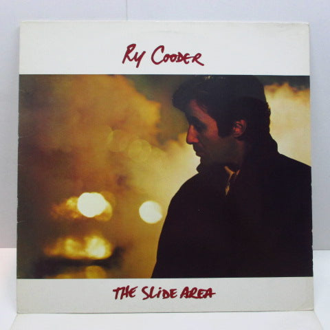 RY COODER - The Slide Area (German Orig.LP/No Barcode)